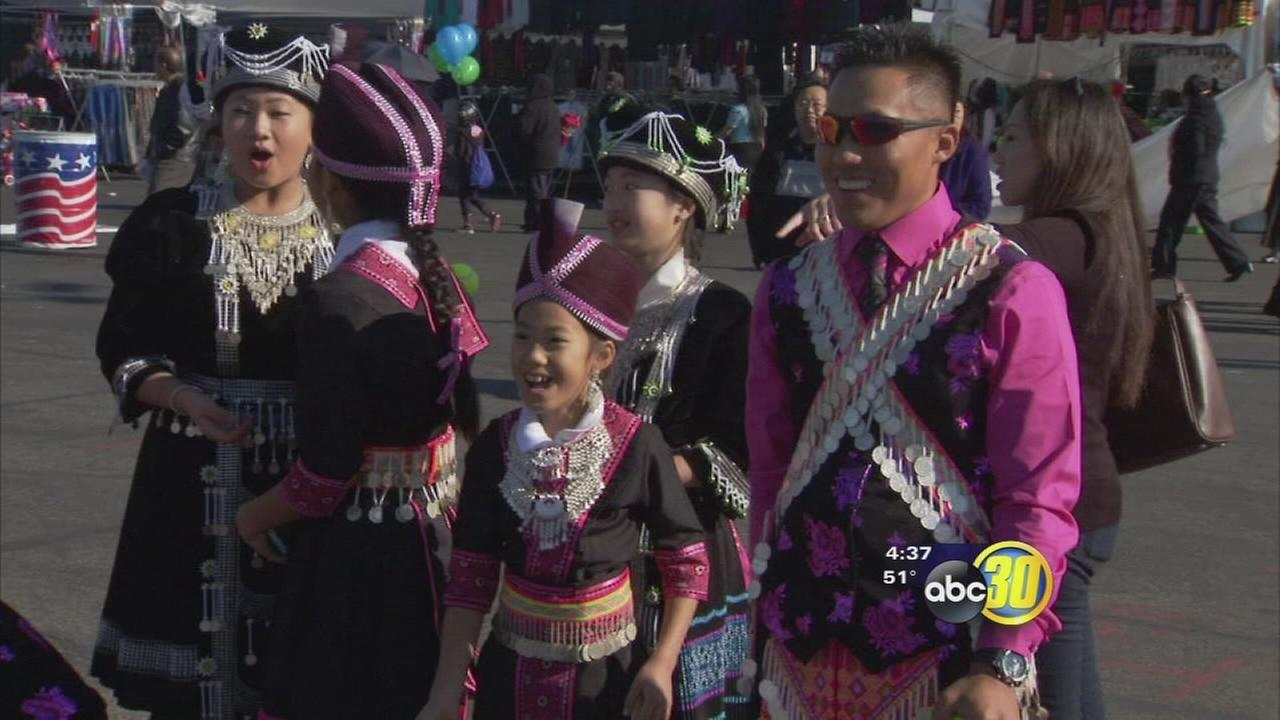 More than 100,000 gather in Fresno to celebrate Hmong New Year