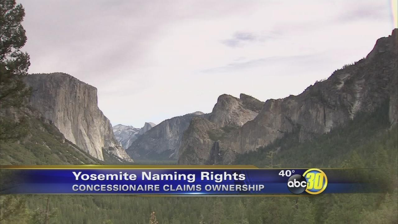 Names of Yosemites most popular locations could be up for grabs