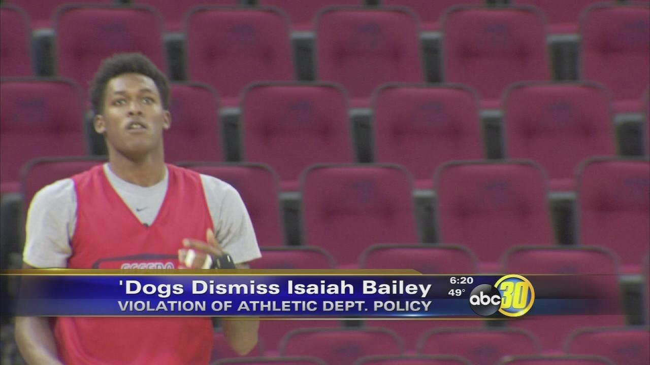 Fresno States Bailey kicked off mens hoops team