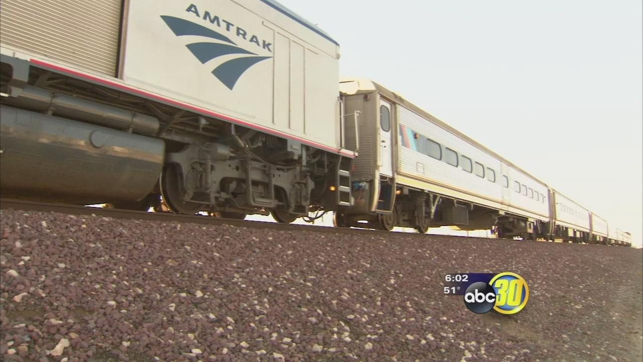 Amtrak trains kill 1 in Fresno, 1 near Corcoran