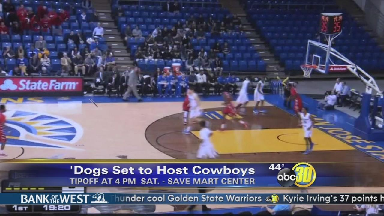 Bulldogs set to host No. 25 Wyoming