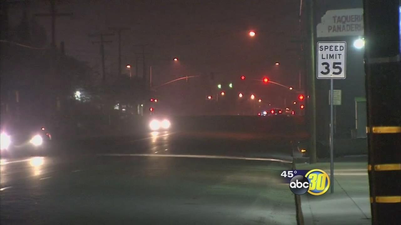 2 girls struck by car in Porterville area