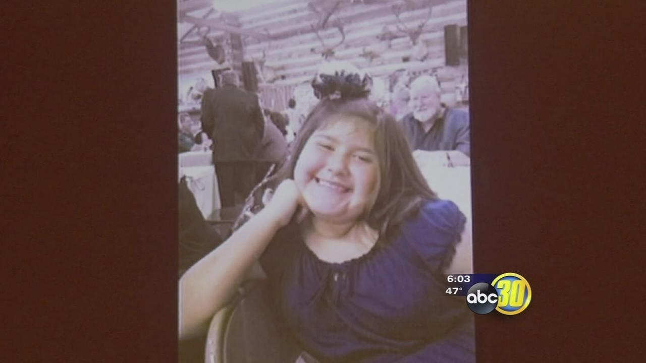 Funeral held for slain 9-year-old Fresno girl