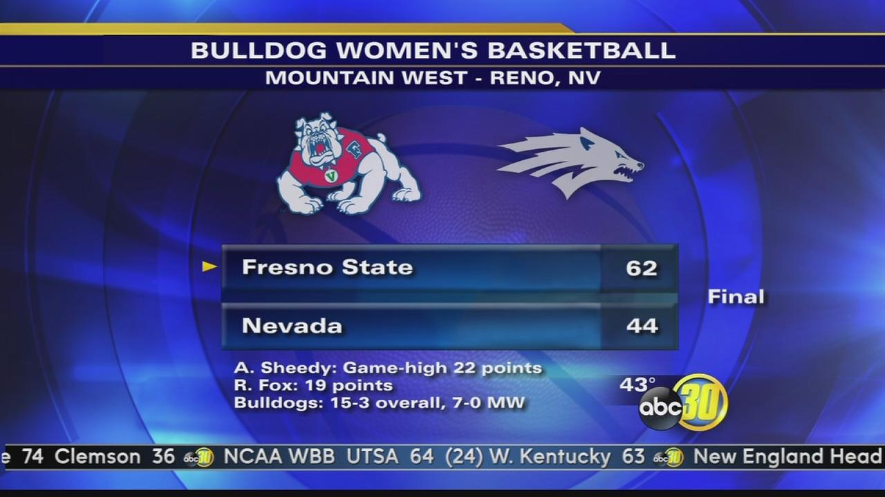 Lady Bulldogs blow out Wolf Pack 62-44