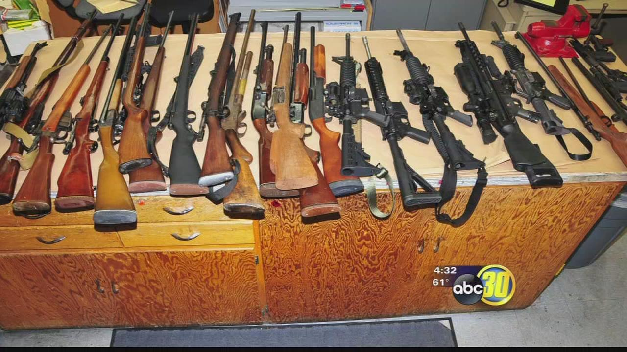 Illegal drug lab, firearms found at home near Fresno school