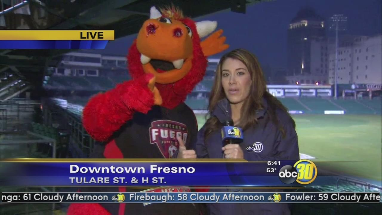 Fresno Fuego to host an exhibition match