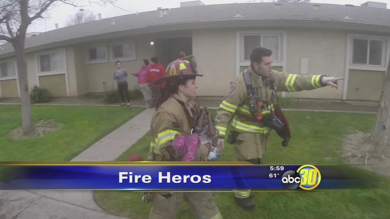 firefighter kid rescue