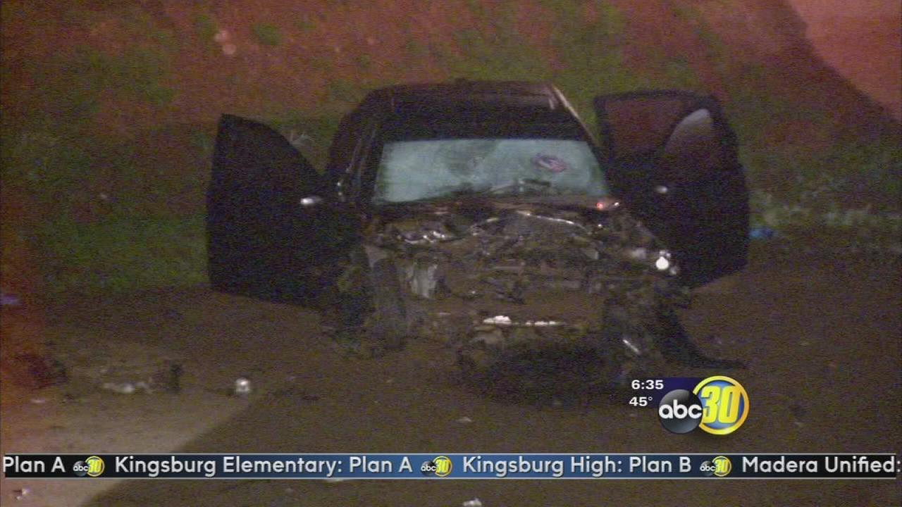Fatal crash knocks out power in Sanger