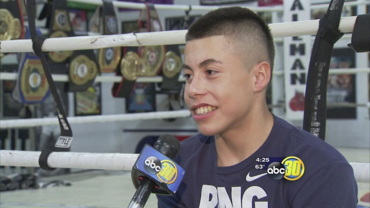 Good Sports: 15-year-old boxing champion Marc Castro