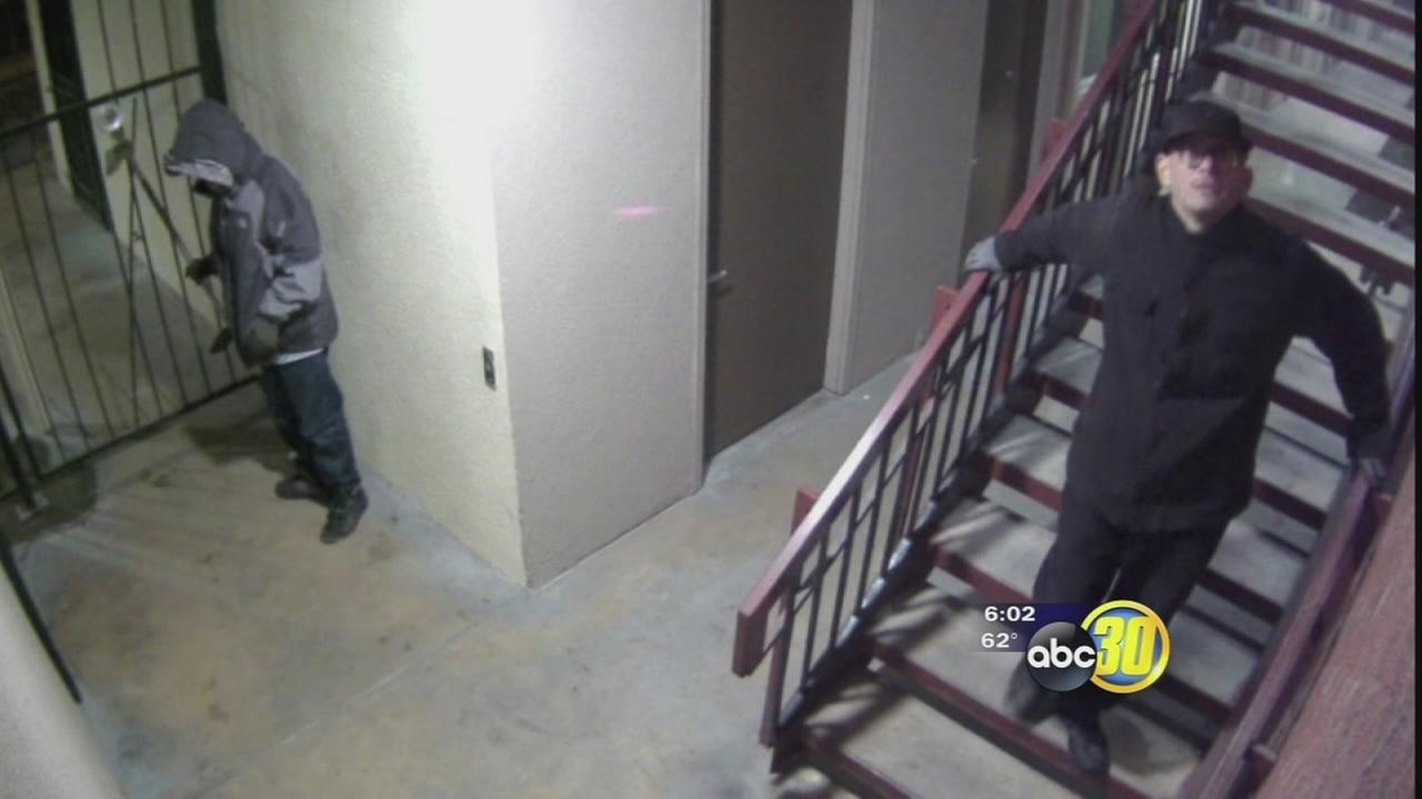 Caught on camera: Burglars hit Central Fresno business