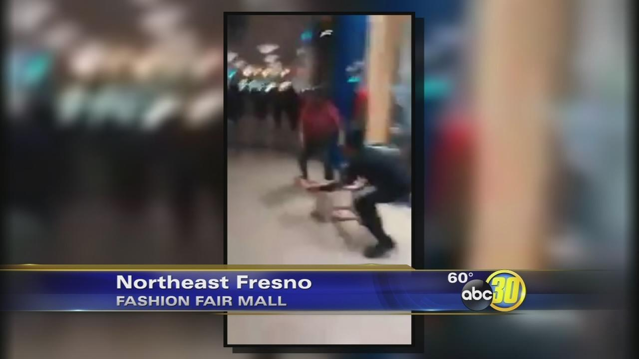 Fashion Fair Mall brawl caught on video