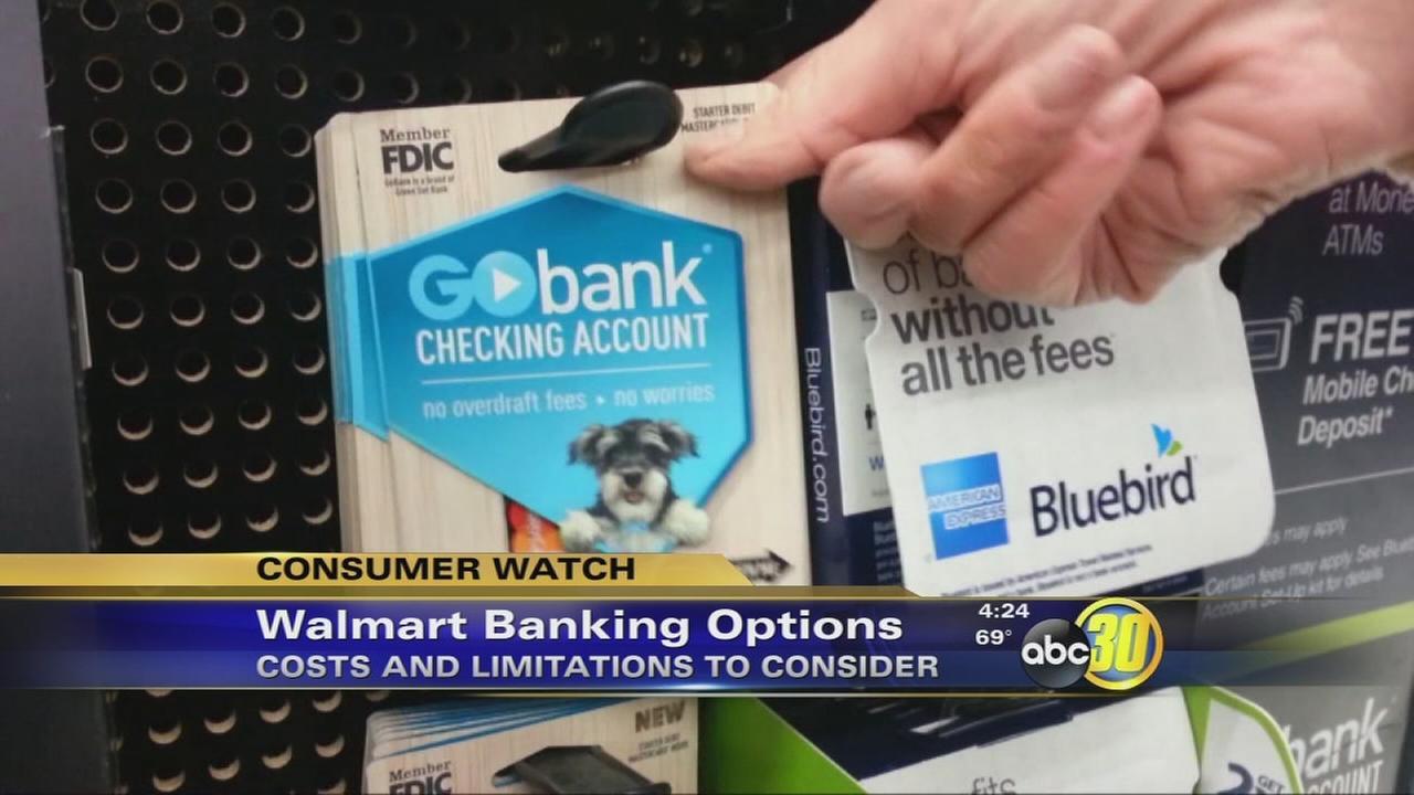 walmart banking options