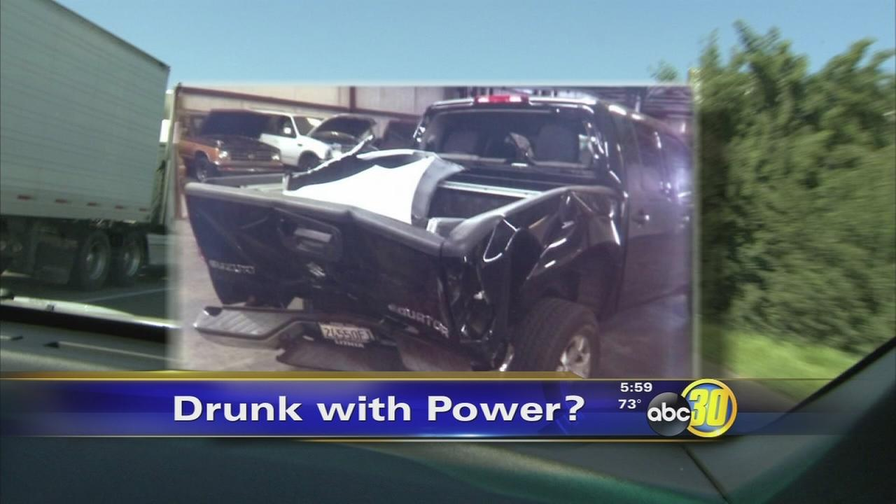 Drunk driving probation officer tries to turn tables on crash victim