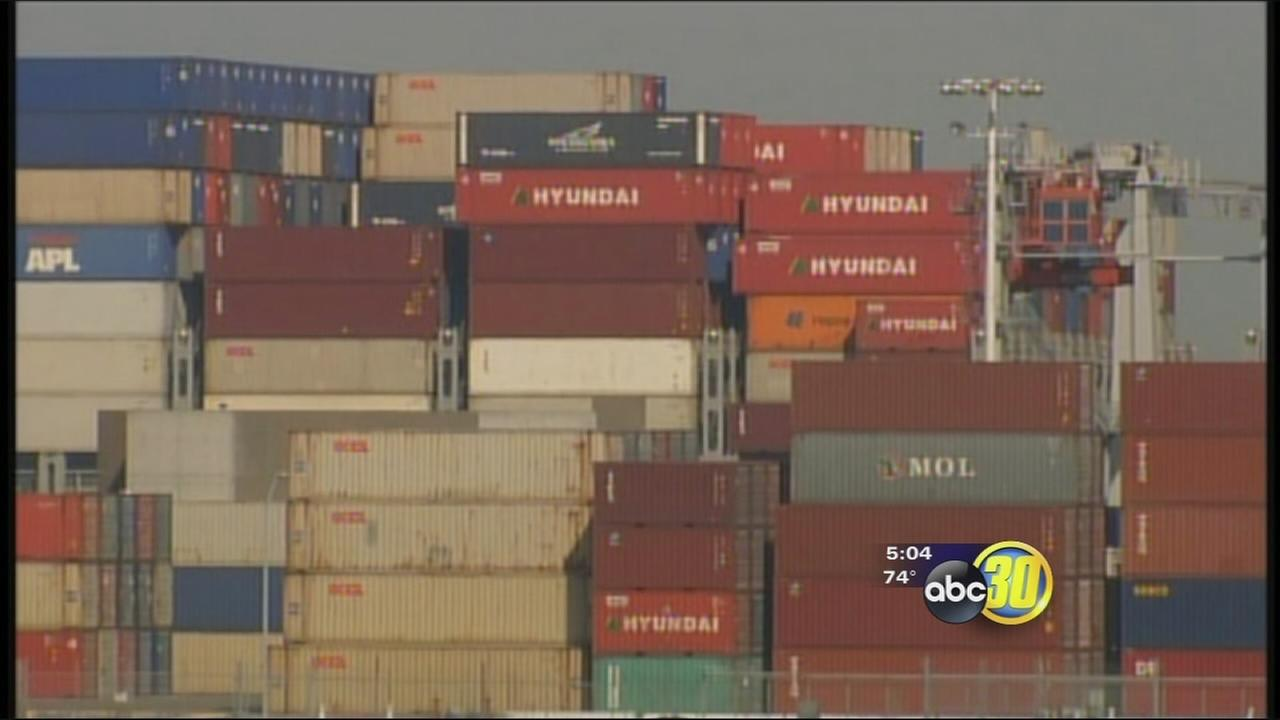 West Coast ports to shut down for weekend, Valley Ag industry taking big hit