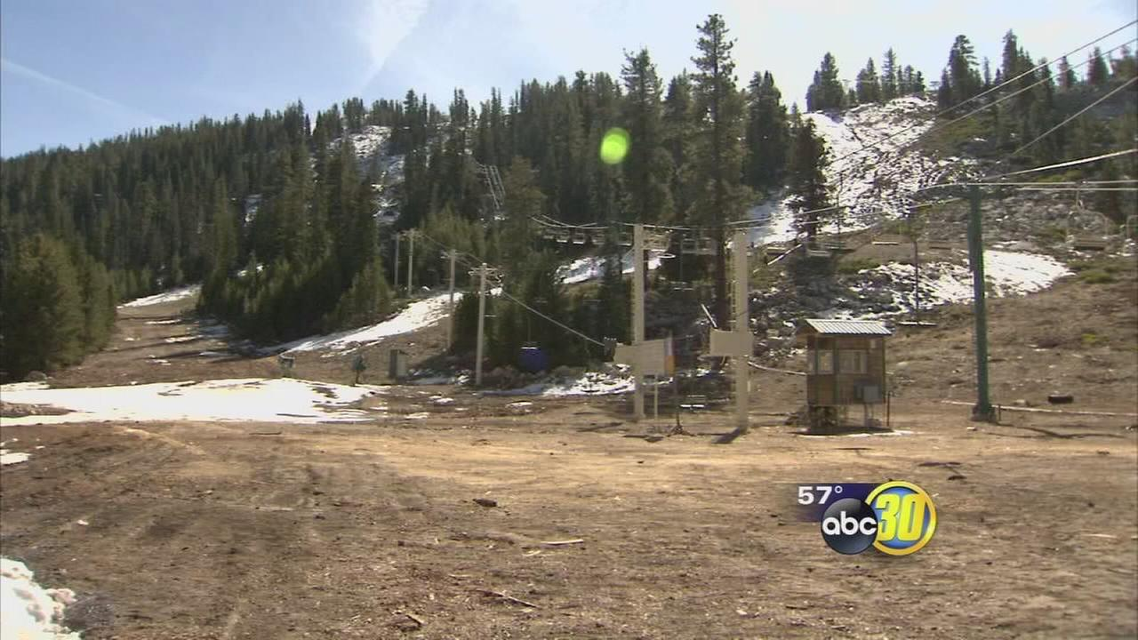 China Peak Mountain Resort temporarily closes due to lack of snow