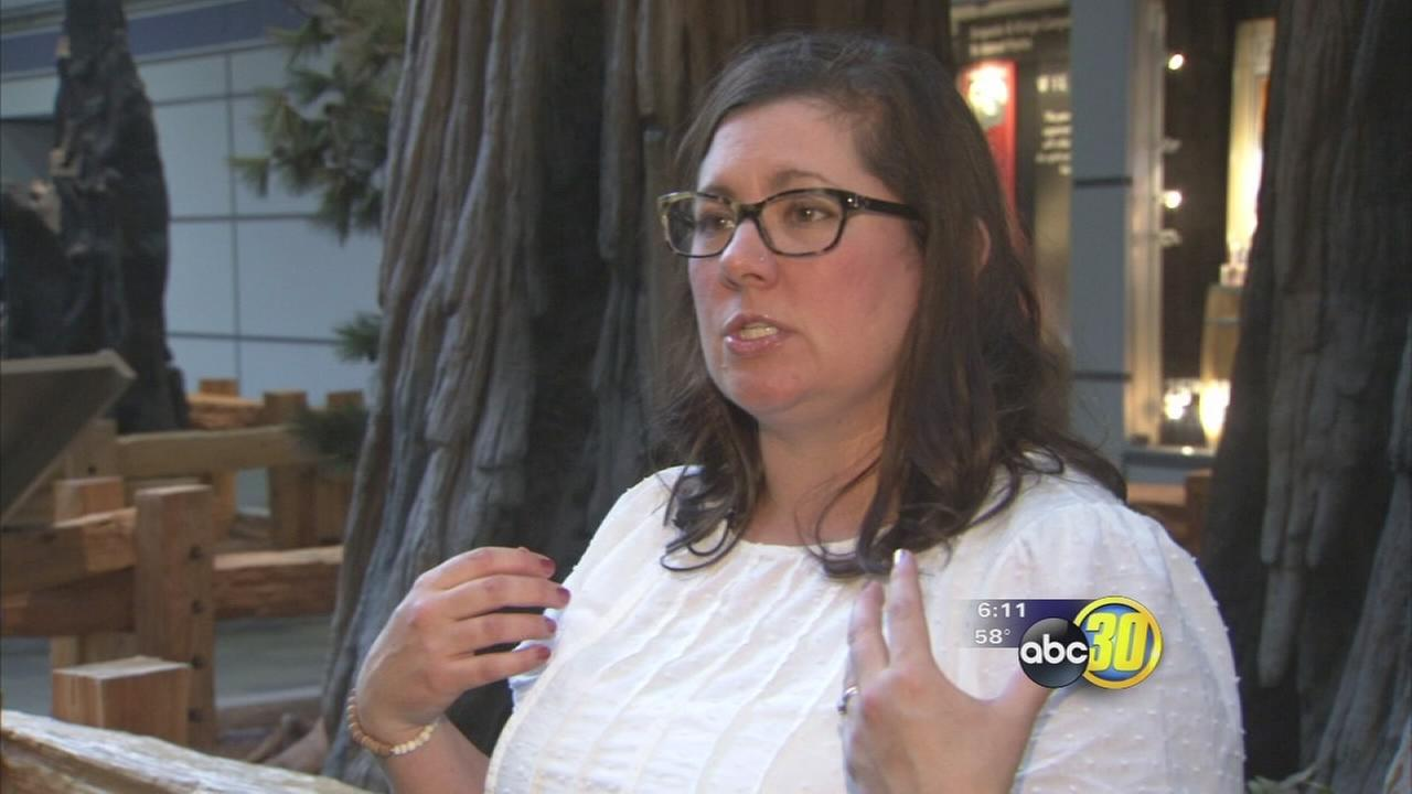 Hanford mom getting national attention for gaining weight