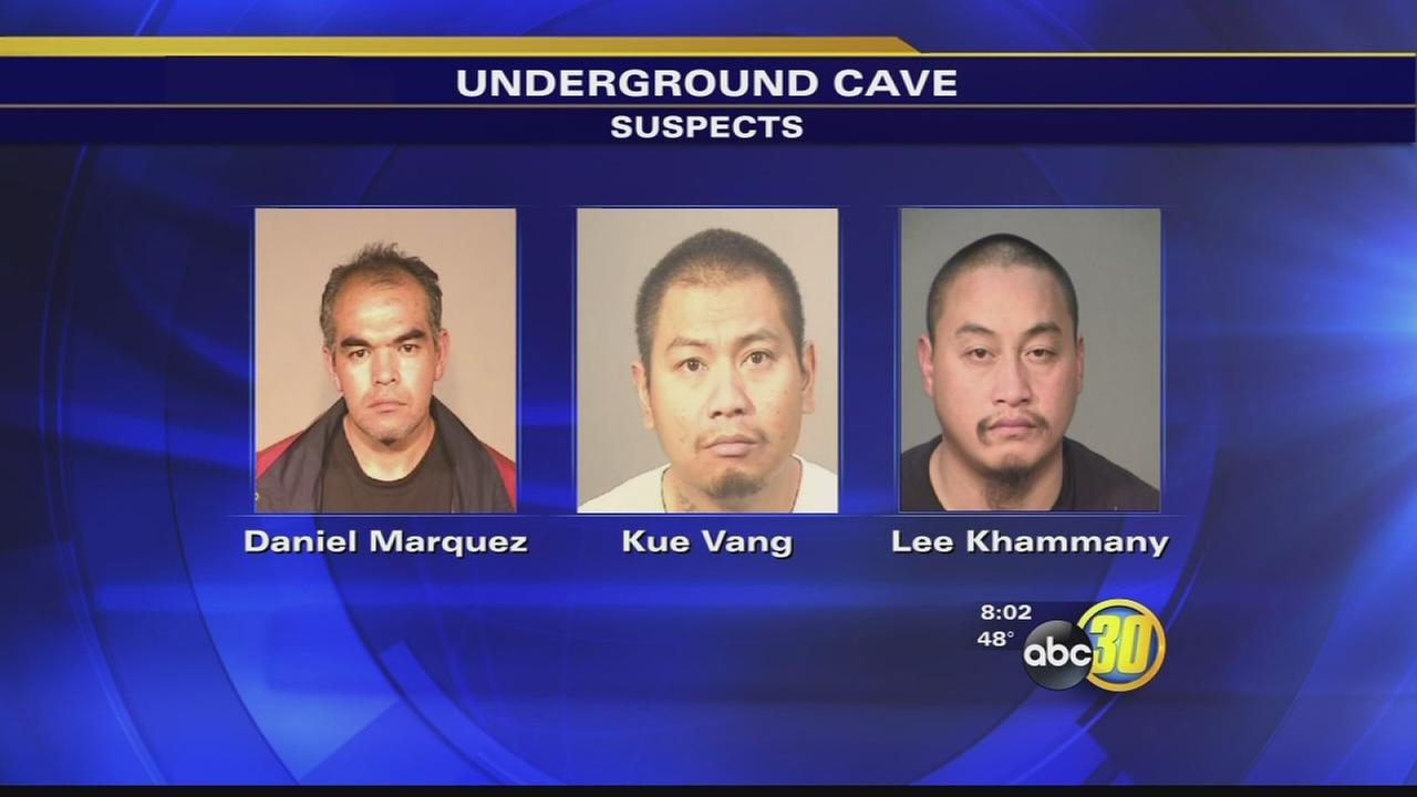 Fresno Police find cave with illegal gambling machines at home