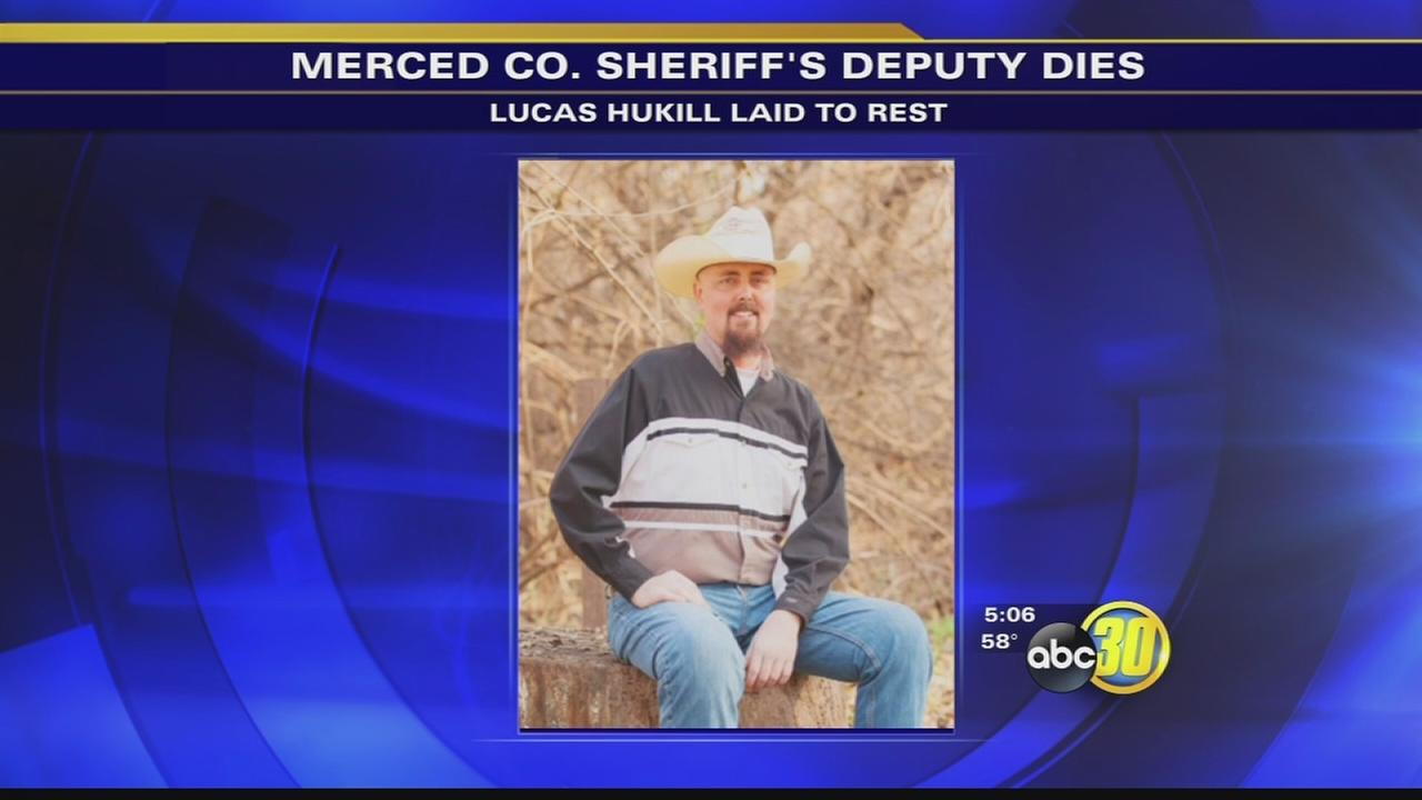 Funeral held for Merced deputy who lost battle with cancer