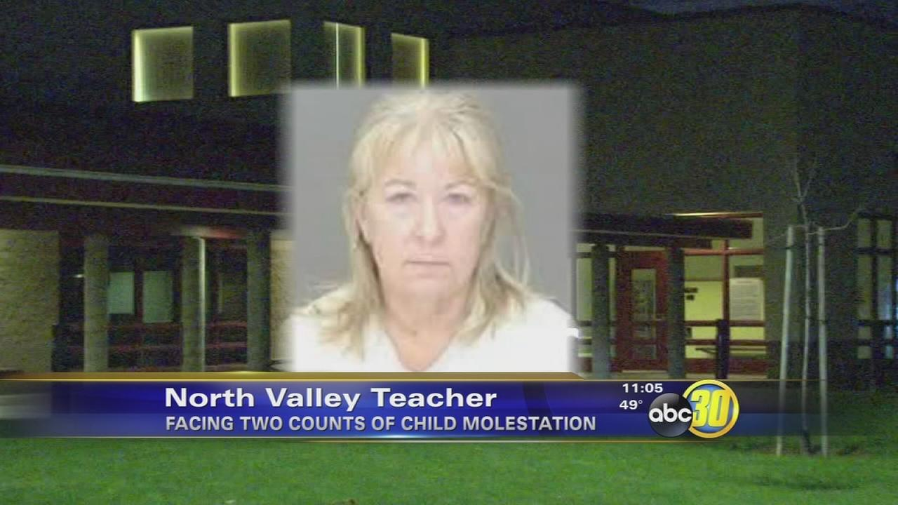 North Valley teacher charged with 2 counts of child molestation