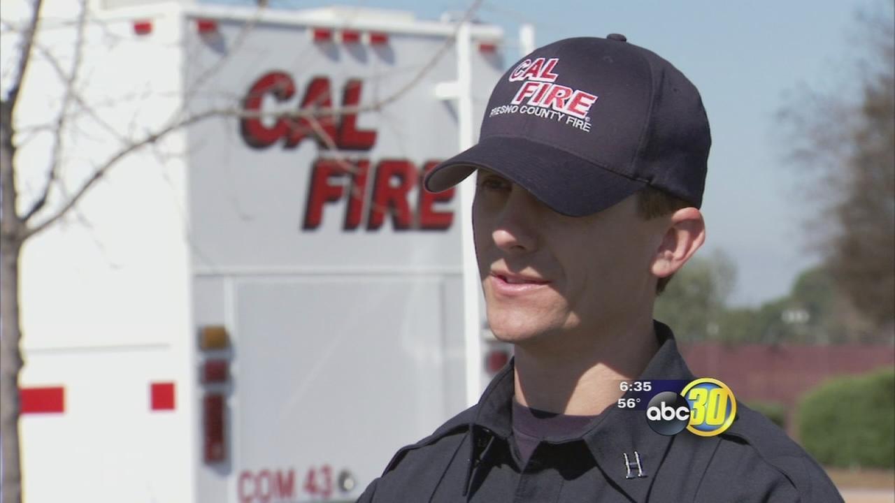 Firefighter hopefuls interviewing for Cal Fire