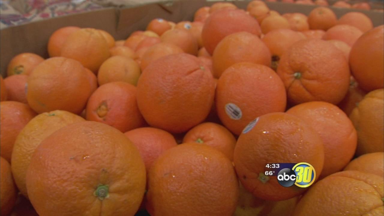 Produce supply concerns food bank