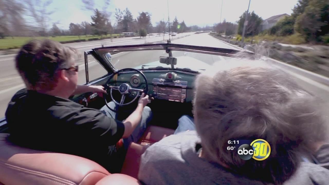 New kind of old car cruising Californias highways