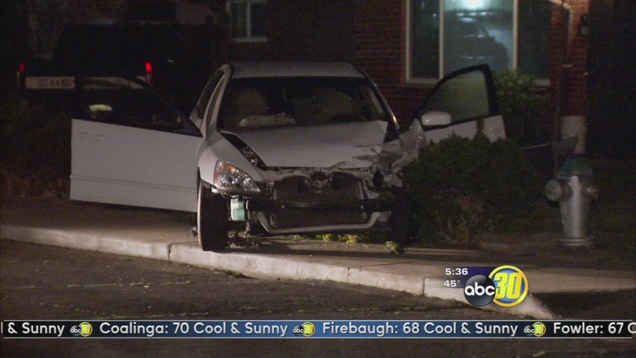 DUI driver hits police car, then runs, police say