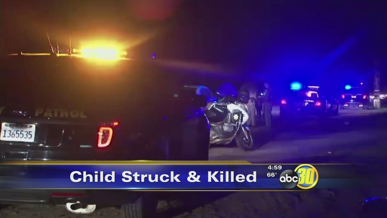 6-year-old boy hit and killed by truck near Sanger