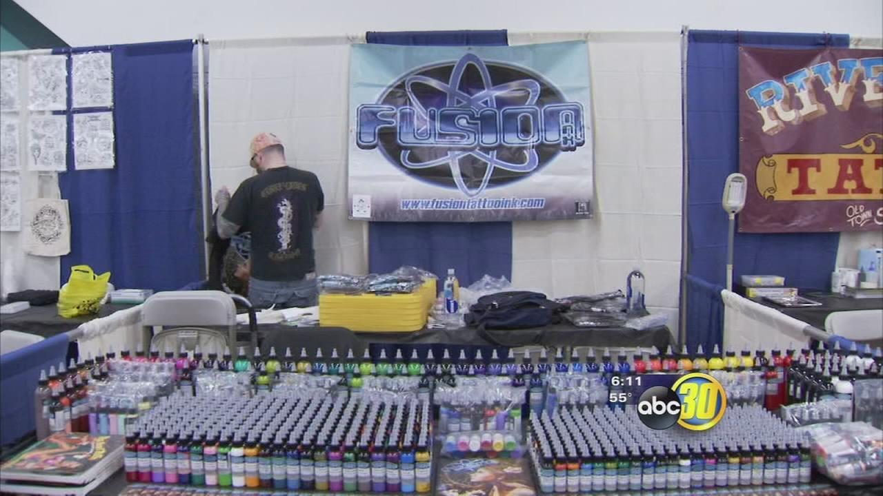 11th annual Tattoo Expo held in Downtown Fresno