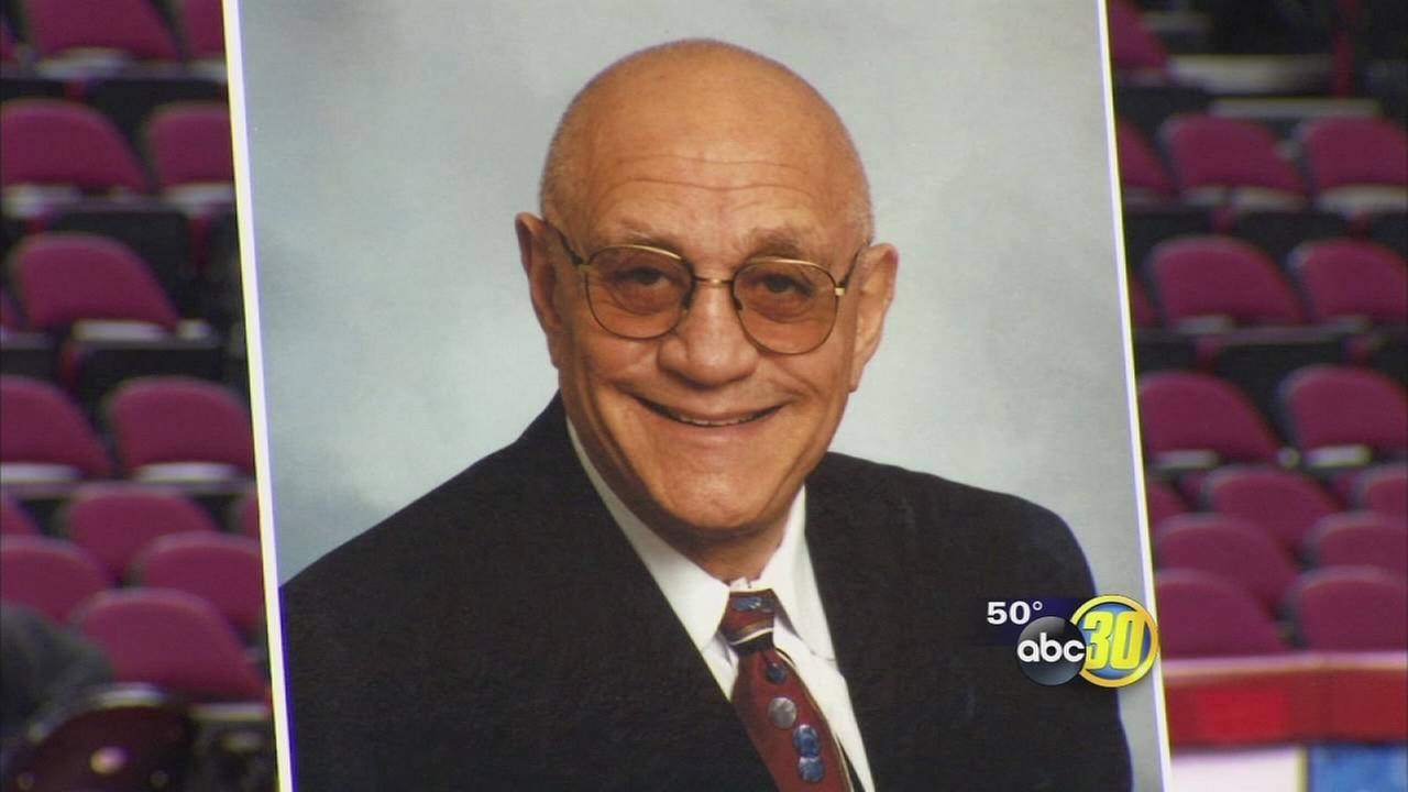 Coach Jerry Tarkanian honored at Fresno State