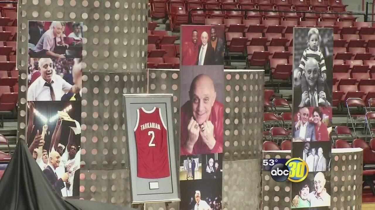 Memorial held for Jerry Tarkanian in Las Vegas