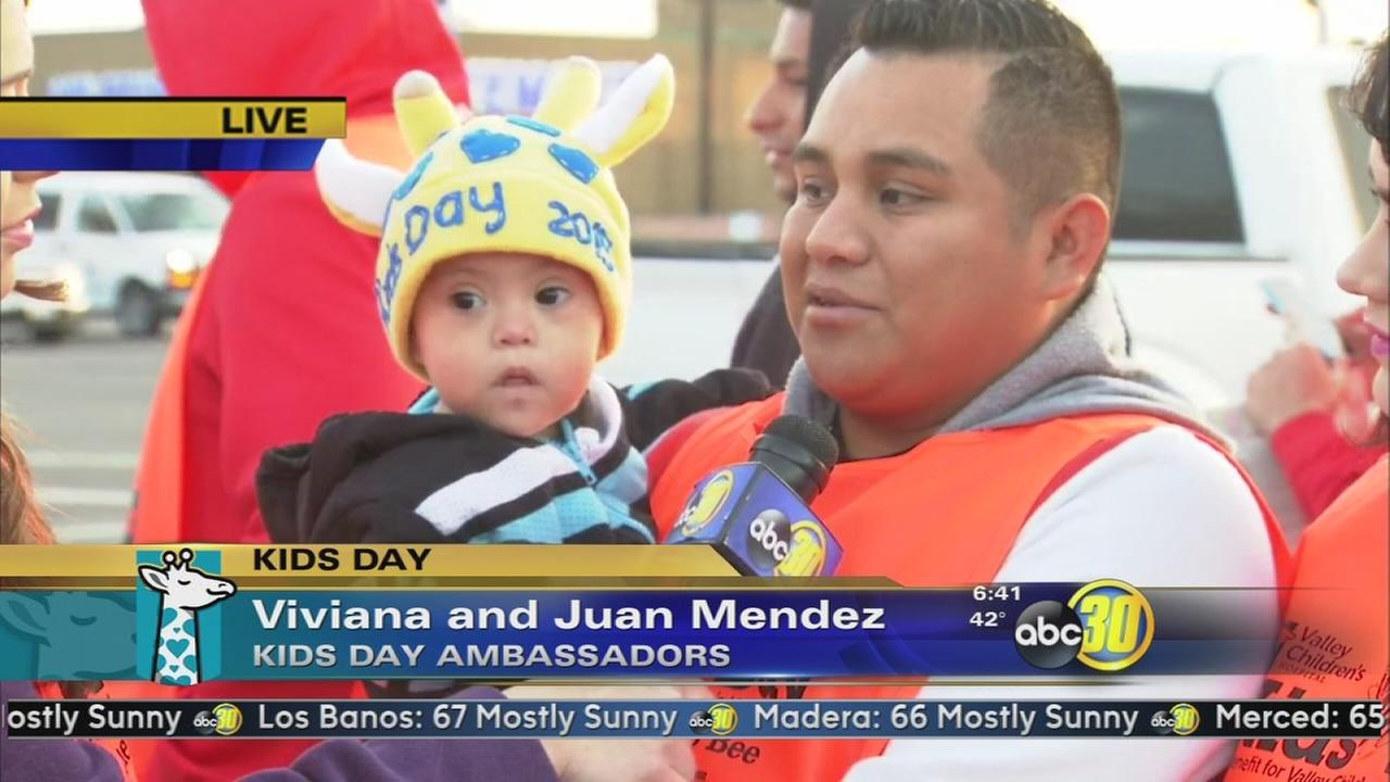 Kids Day Ambassador Neymar Mendez