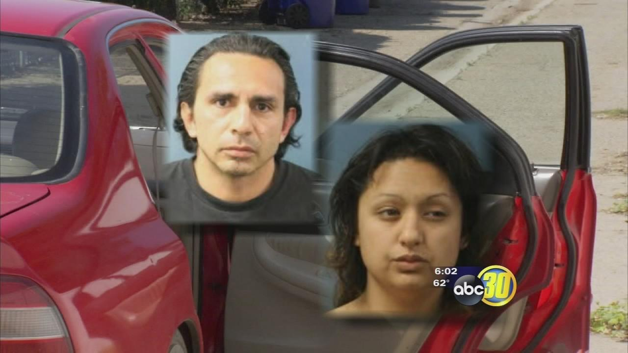 Suspects arrested after short joy ride in Dinuba