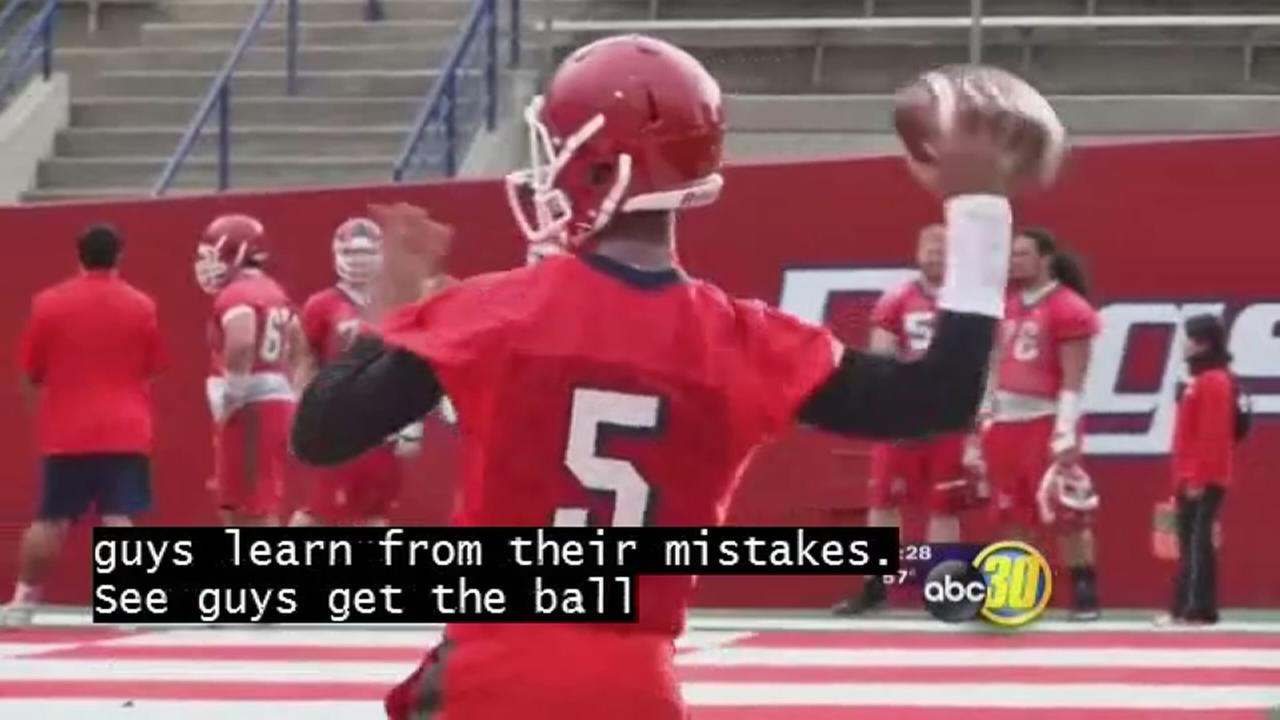 ?Dogs QB battle in spring ball