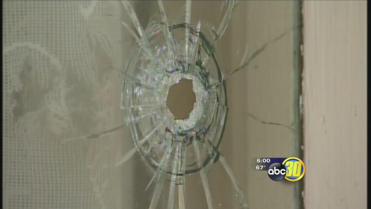 Merced mans house shot at three times in one night
