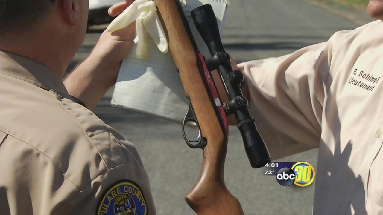 Teen shoots farmworker during target practice near Porterville, deputies say