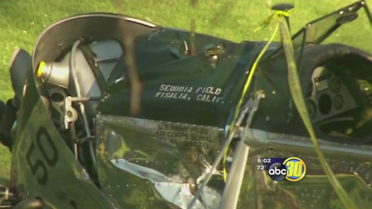 Plane crashed by Harrison Ford trained World War II pilots in Central Valley