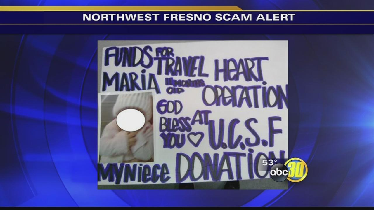 Sick child scam pops up in Northwest Fresno