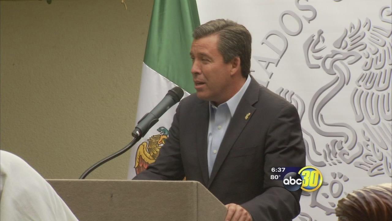Governor of Guanajuato, Mexico visits Fresno