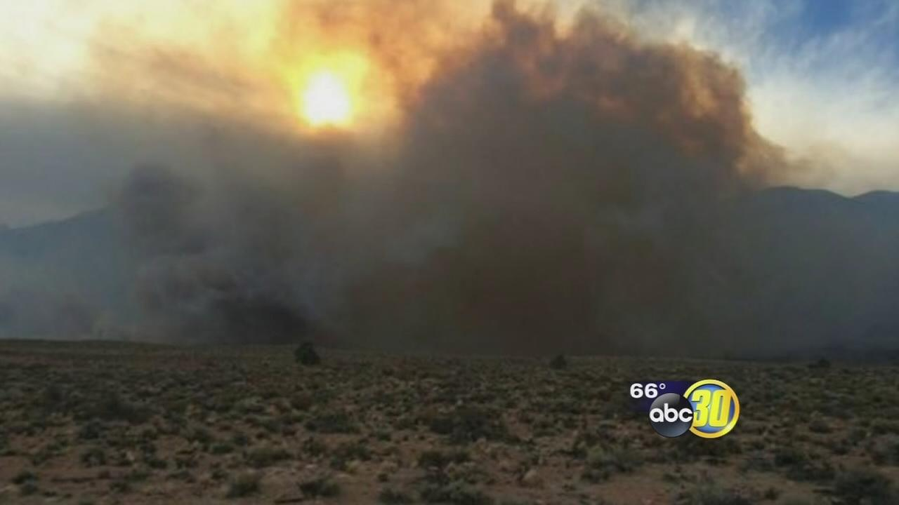 Ongoing drought impacting firefighters across California