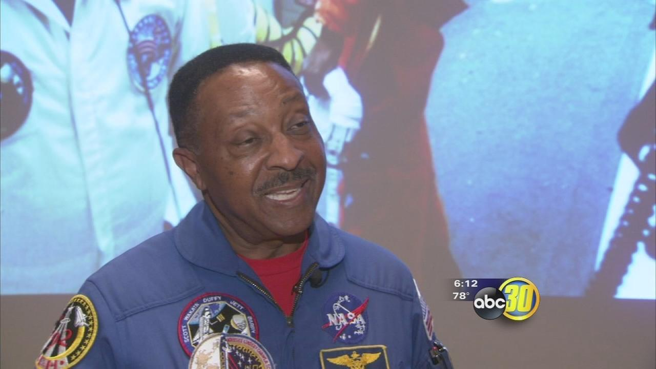 astronaut speaks