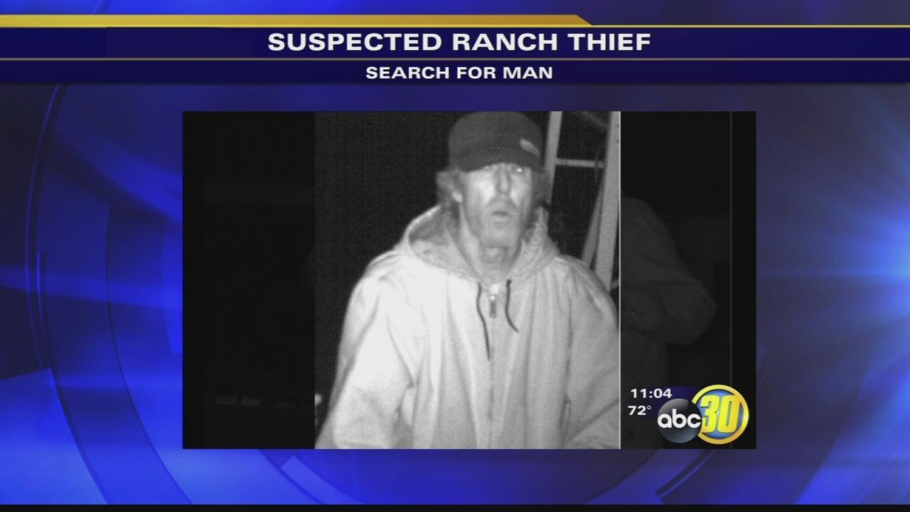 Fresno Co Sheriffs Office searching for Ag theft suspect