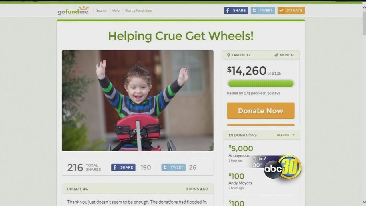 Kingsburg 2-year-old closer to getting wheelchair after being initially denied by insurance