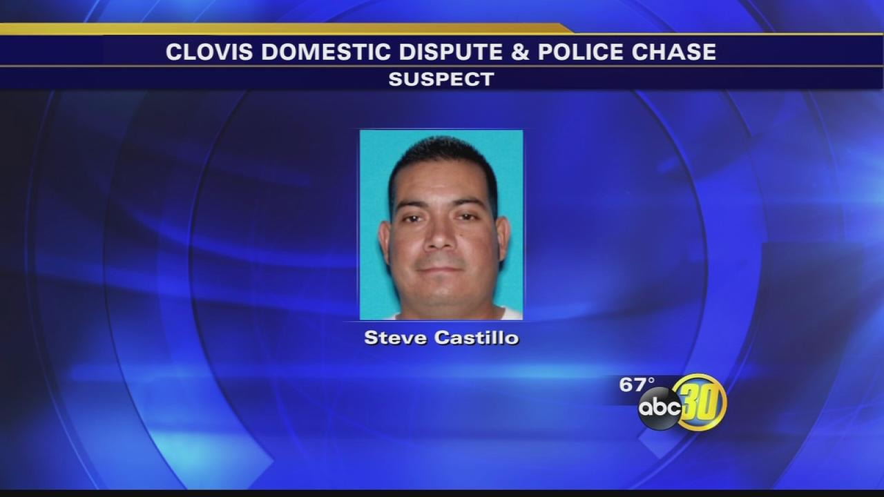 Man leads police on high speed chase after domestic disturbance in Clovis