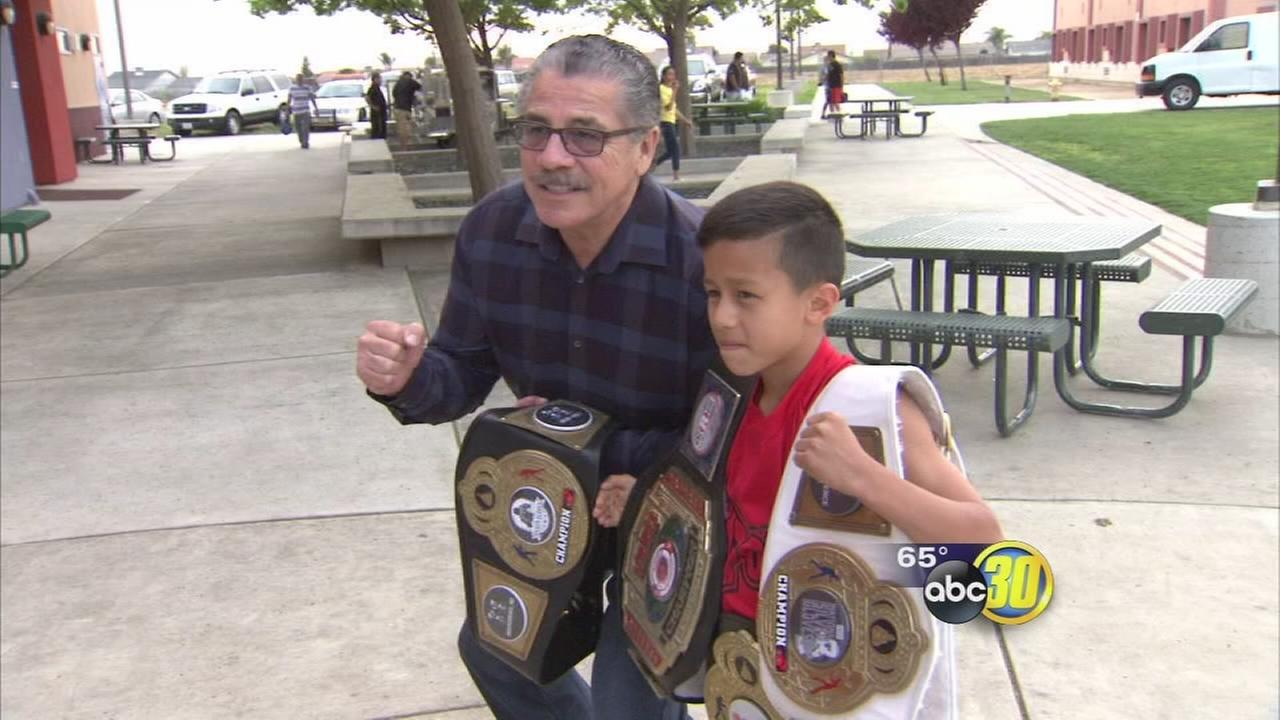 Jacob Stitch Duran helps open Planada Boxing Gym