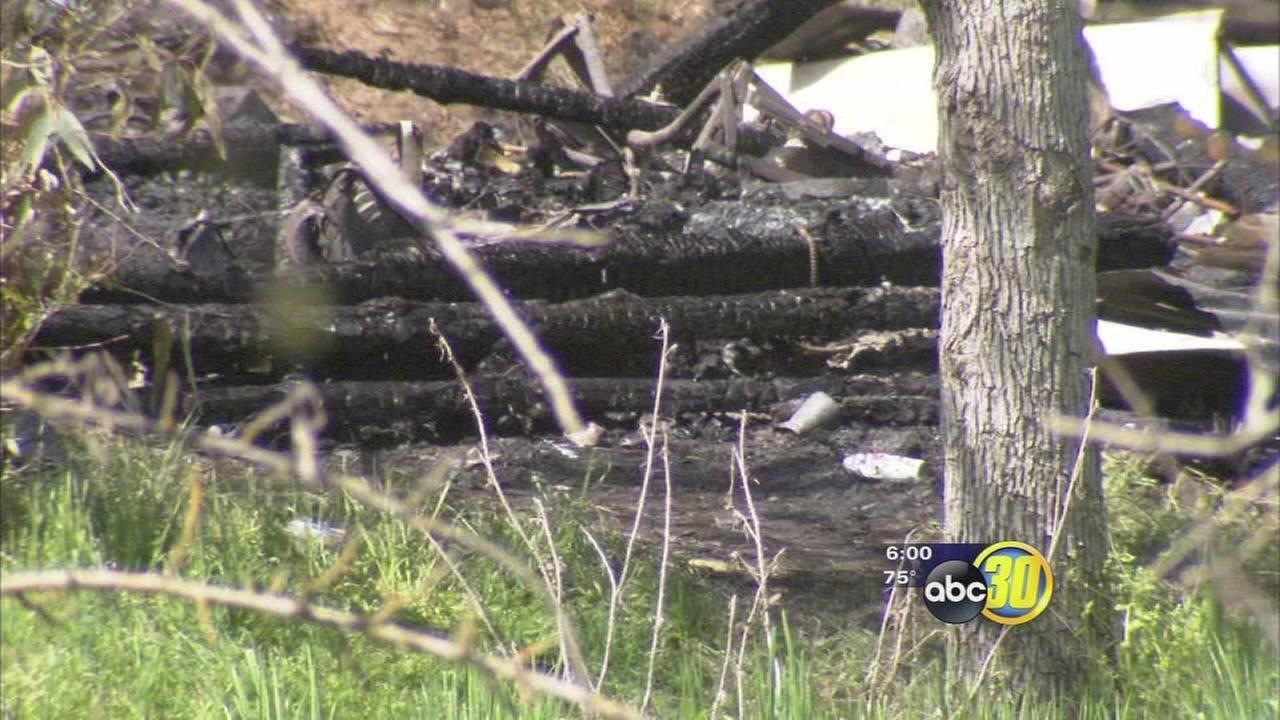 Fire leads to discovery of body in Squaw Valley
