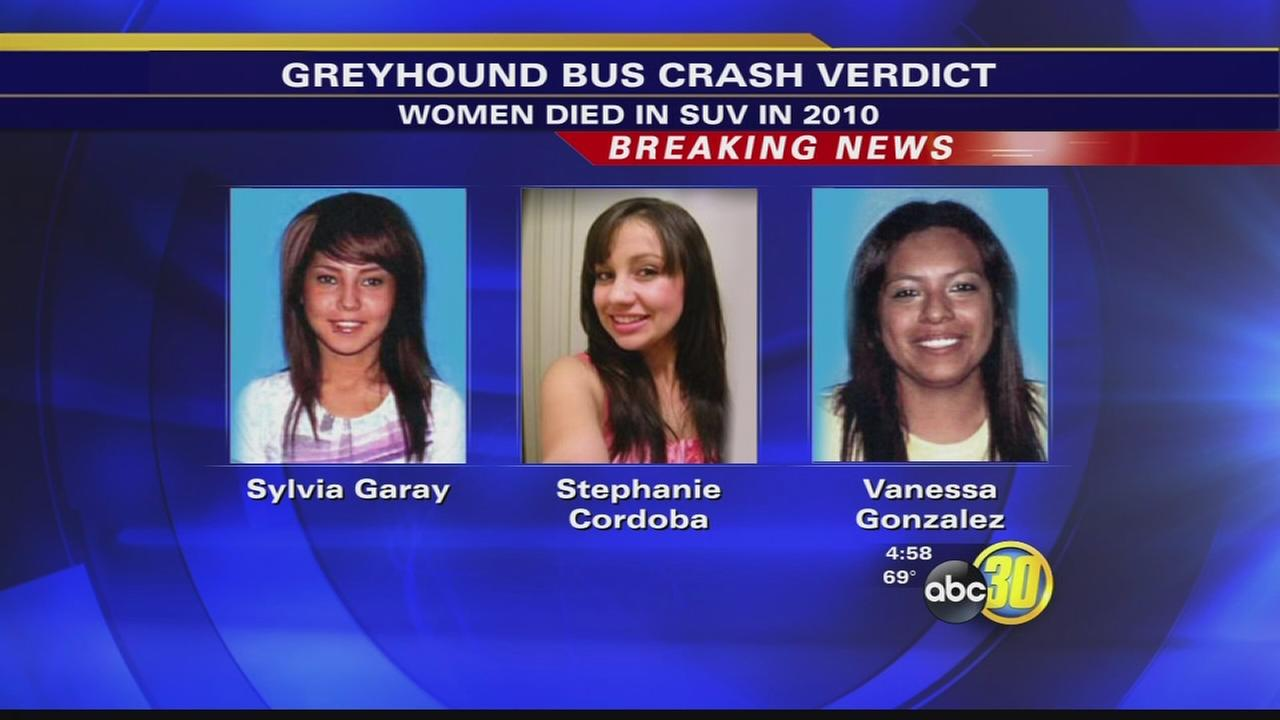 Greyhound not found to be negligent in 2010 crash
