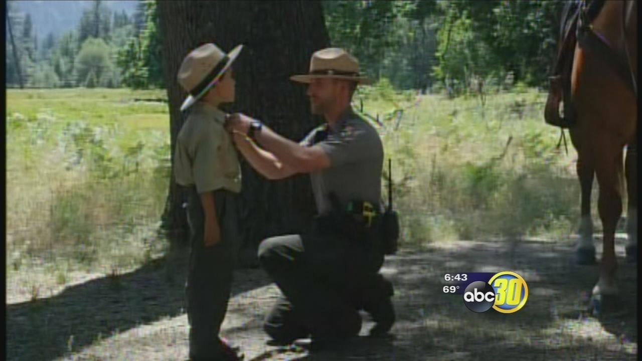Yosemite is celebrating 125 years with the help of a special 9-year-old ranger