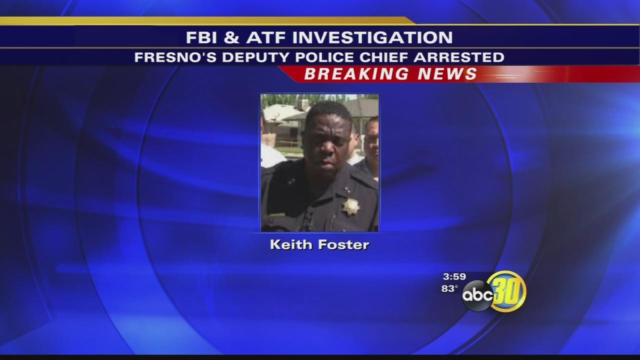 Fresno Deputy Police Chief Keith Foster, 5 others arrested on drug charges