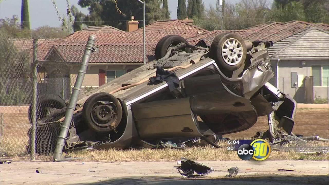 3 crashes occur on Willow Avenue in Clovis